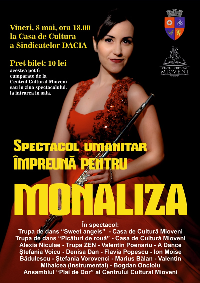 afis spectacol monaliza