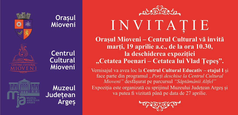 invitatie vernisaj